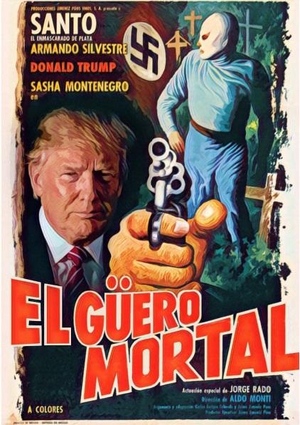 Creatividad Mexicana: Luchadores vs Trump