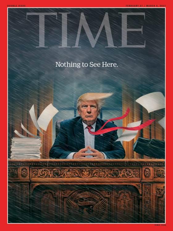 caos de Donald Trump