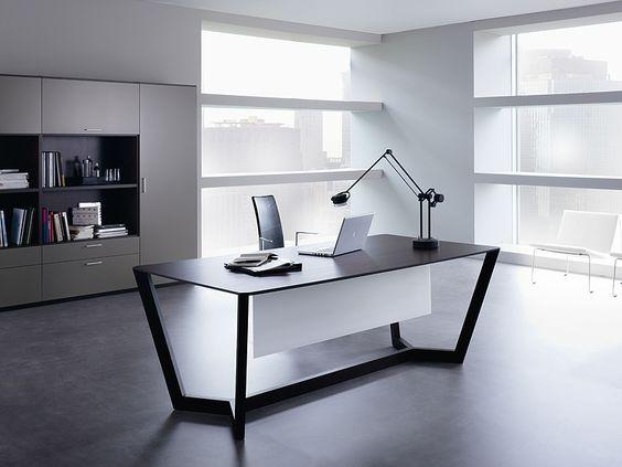 7 fotos de oficinas para inspirarte a dise ar la tuya for Imagenes de oficinas minimalistas