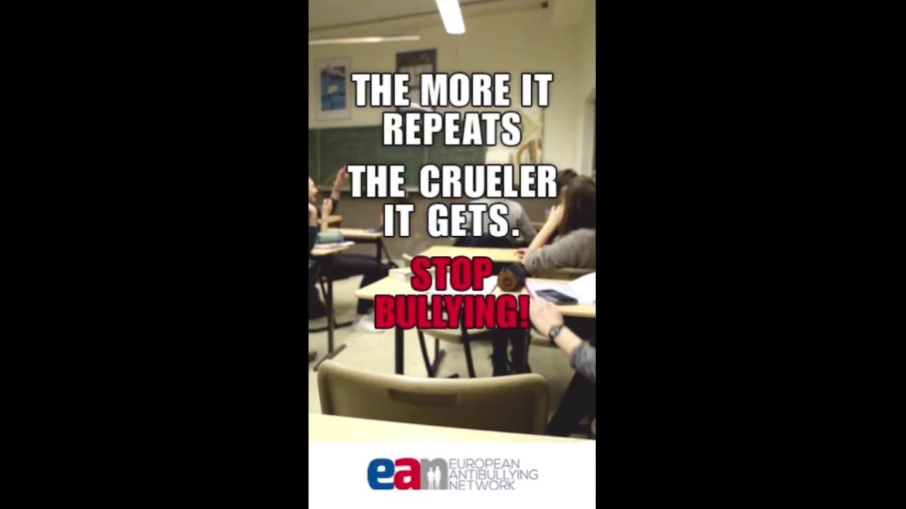 campaña animada contra el Bullying