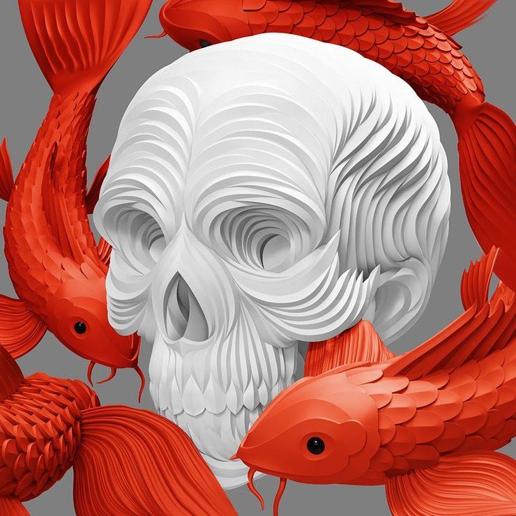 ilustraciones digitales en 3D