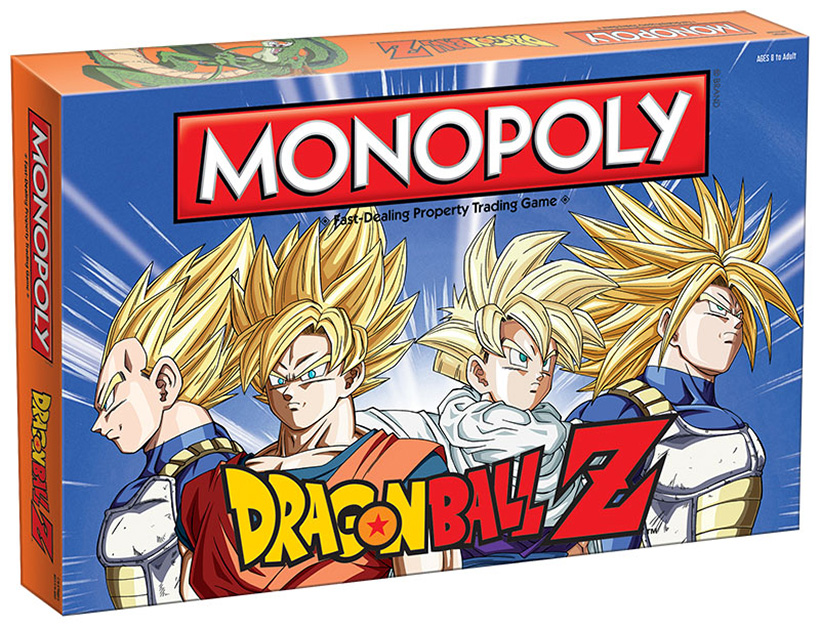 Monopoly edición Dragon Ball Z