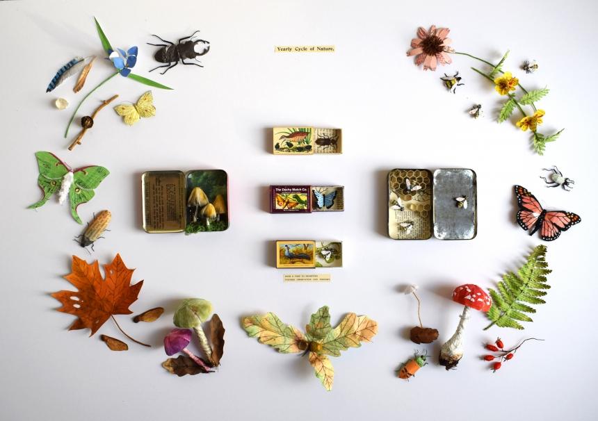 Obras de arte inspiradas en la naturaleza por Kate Kato