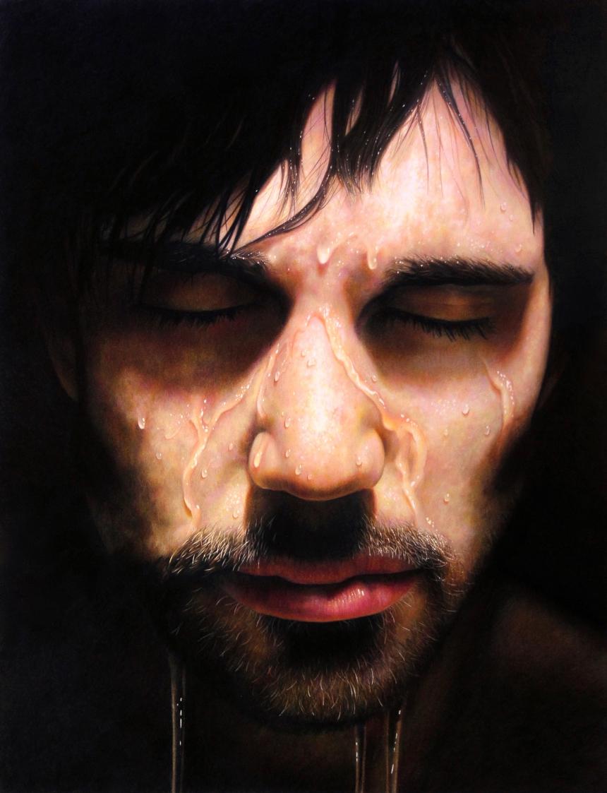 Retratos hiperrealistas por Jesse Lane