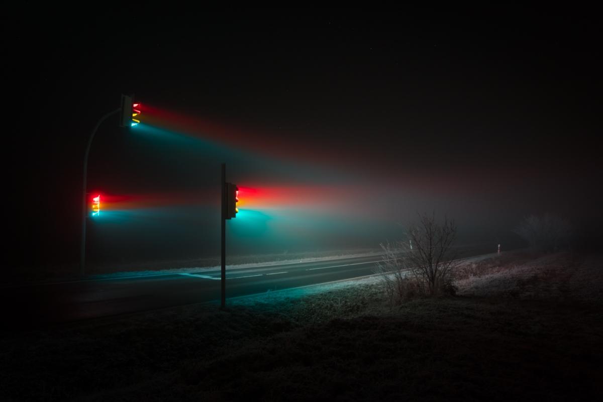 Resultado de imagen para semaforo surrealista