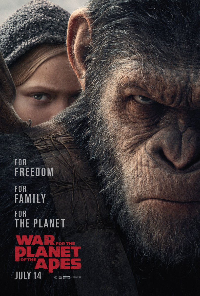 Trailer de War for the Planet of the Apes