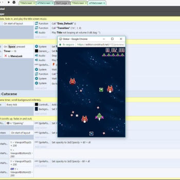 Construct, un editor para crear juegos multi plataforma en linea