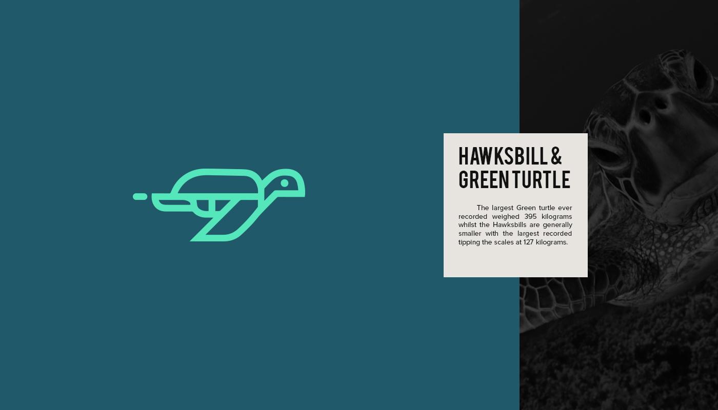 diseños de logotipos inspirados en animales en peligro de extinción