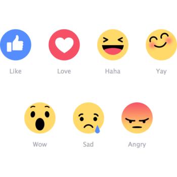 Iconos gratis de las emociones de Facebook (Sketch & Ai)