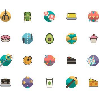 Paquete de iconos gratuitos para gamers y creativos