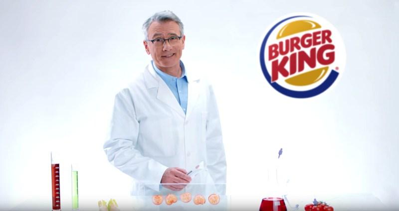 pasta de dientes con sabor a Burger King