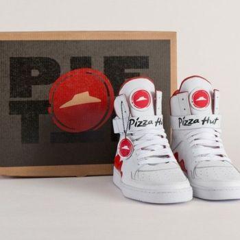 Pizza Hut, lanza los Pie Tops unos zapatos para pedir pizza con un botón