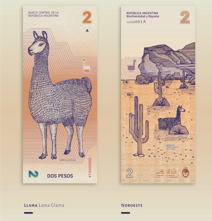 Propuesta de diseño de billetes en argentina