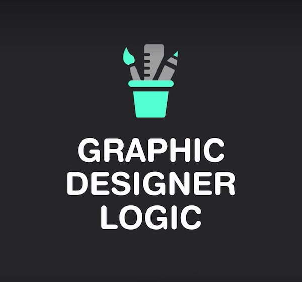 lógica del diseñador gráfico