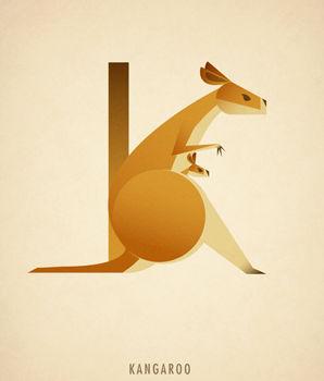 Ilustraciones tipograficas inspiradas en el reino animal (11)