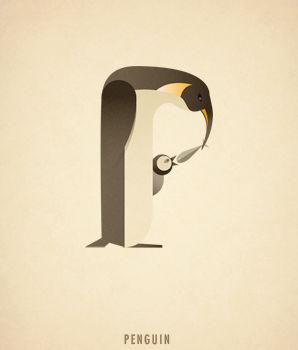 Ilustraciones tipograficas inspiradas en el reino animal (16)