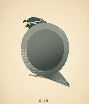 Ilustraciones tipograficas inspiradas en el reino animal (17)