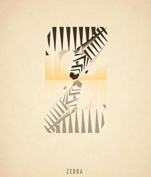 Ilustraciones tipograficas inspiradas en el reino animal (23)