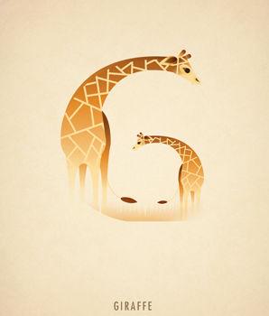 Ilustraciones tipograficas inspiradas en el reino animal (7)