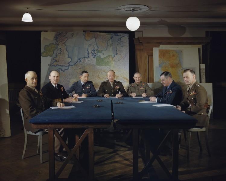 Reunión del comando supremo