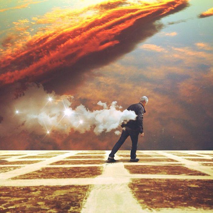 Surrealistas fotografías digitales
