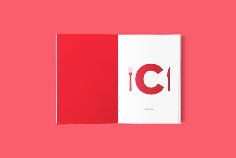 diseño de invitación de boda inspirada en la tipografía