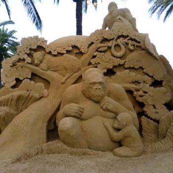 esculturas de arena por Susanne Ruseler (5)
