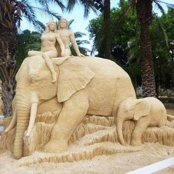 esculturas de arena por Susanne Ruseler (6)