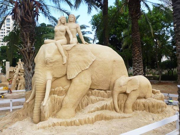 Esculturas de arena por Susanne Ruseler