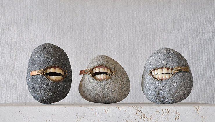 Esculturas de piedra por Hirotoshi Ito