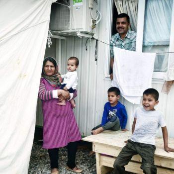 Como es la vida en un campo de refugiados (1)
