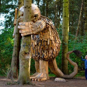 Forgotten Giants, una impresionante serie artística escondida en el bosque (10)