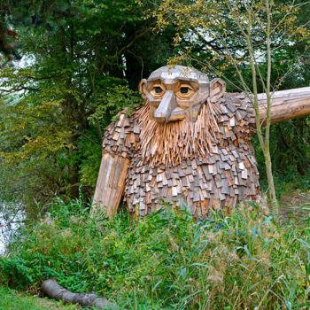 Forgotten Giants, una impresionante serie artística escondida en el bosque (11)