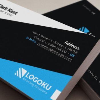Mockup PSD de tarjetas de presentación para descargar gratis