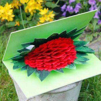 Creativos diseños de tarjetas Pop-up para el día de las madres