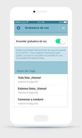 Waze grabar comandos de voz (2)