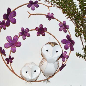 esculturas de papel inspiradas en aves por Kate Kelly (10)