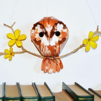 esculturas de papel inspiradas en aves por Kate Kelly (5)