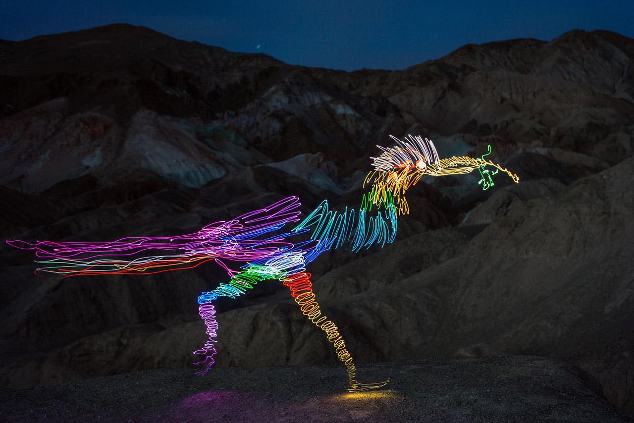 Esculturas de lumínicas por Darren Pearson