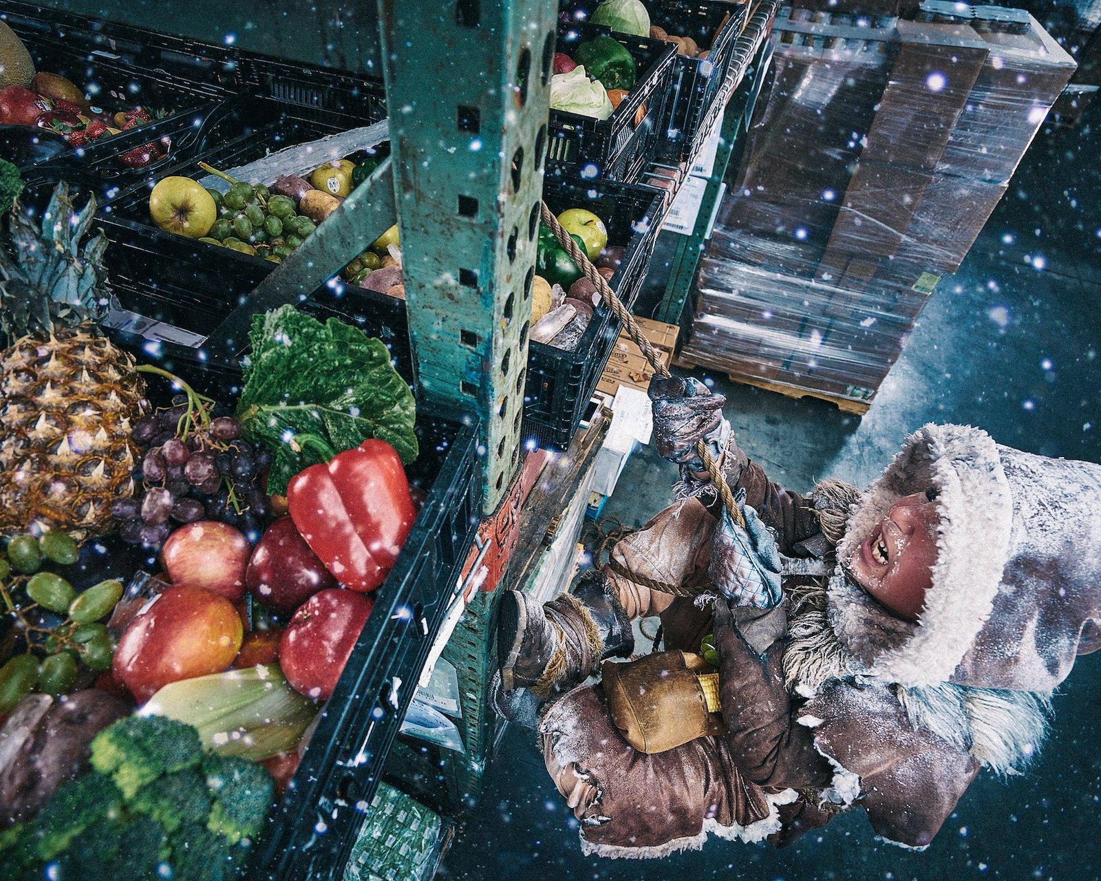 Fotografías contra el hambre infantil por Benjamin Von Wong
