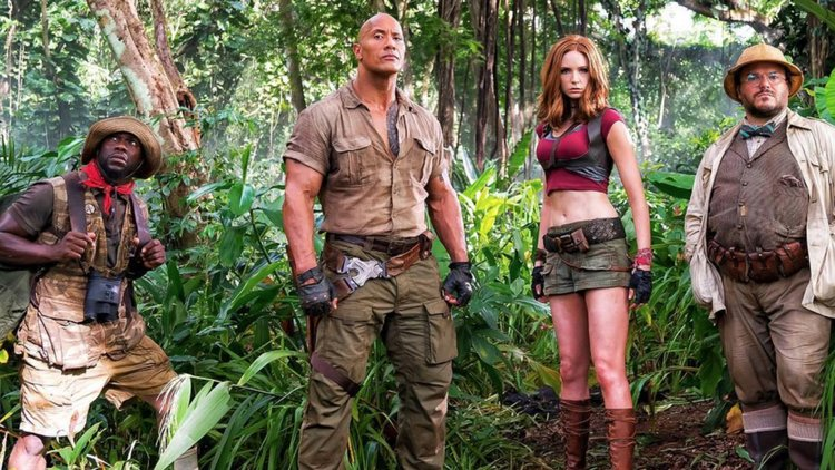 Jumanji: Welcome to the Jungle primer trailer