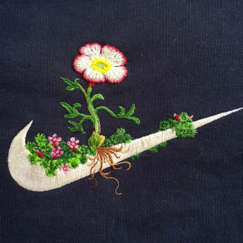 Logos de marcas deportivas mezcladas con la naturaleza (8)
