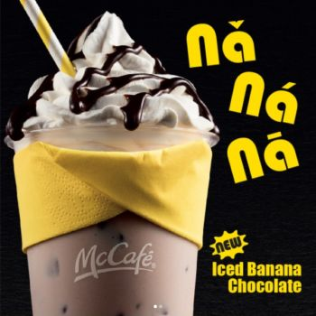 McCafe de banana con chocolate MINION