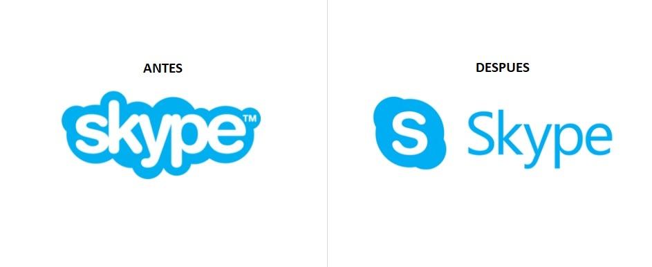 Skype cambia de imagen con nuevo logo y tipografía