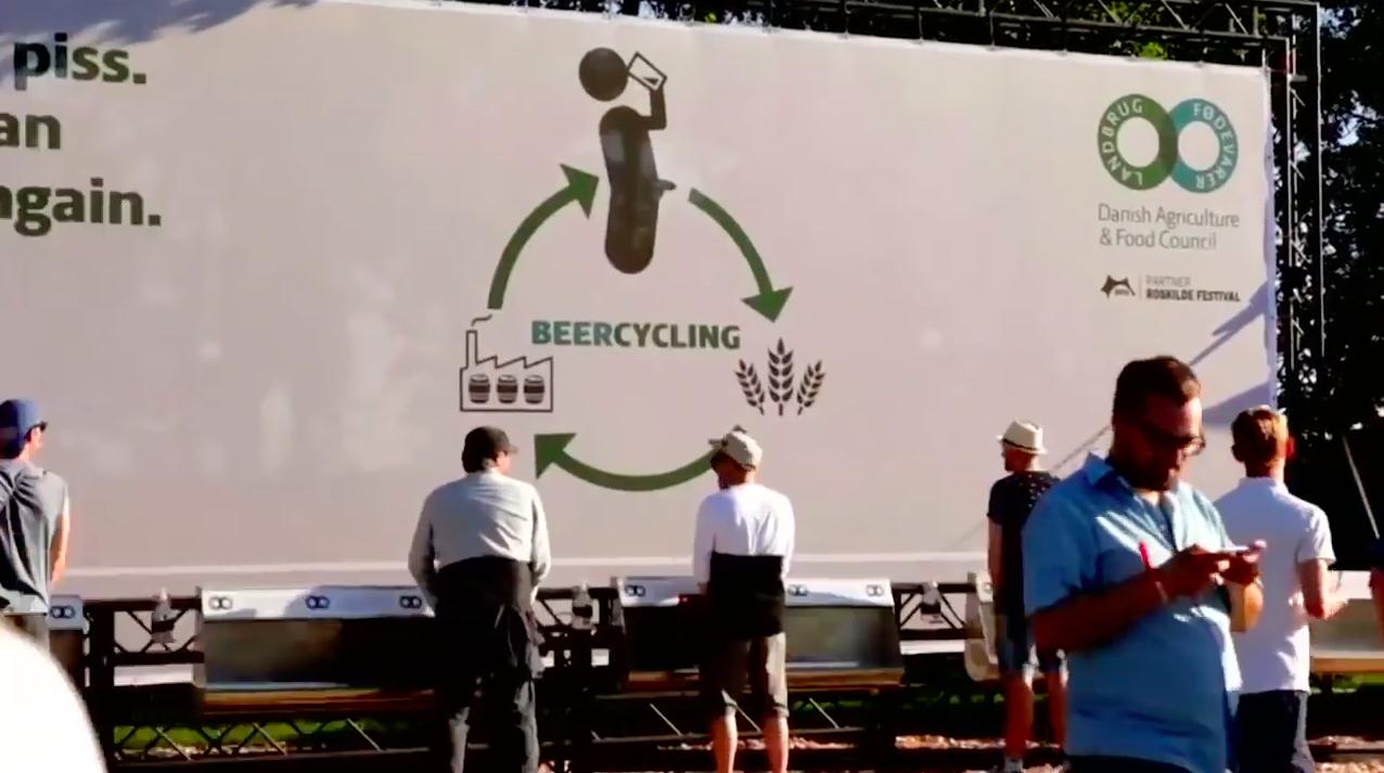 cerveza creada mediante el reciclaje de orina