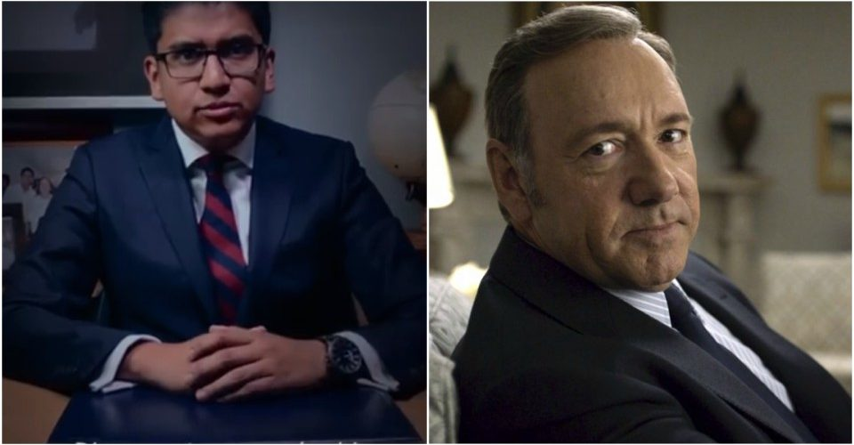 Político mexicano plagia discurso de House of Cards