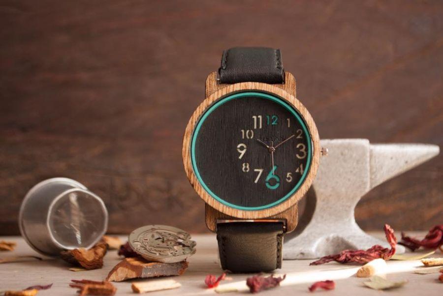 relojes de madera para amantes del diseño sustentable (1)