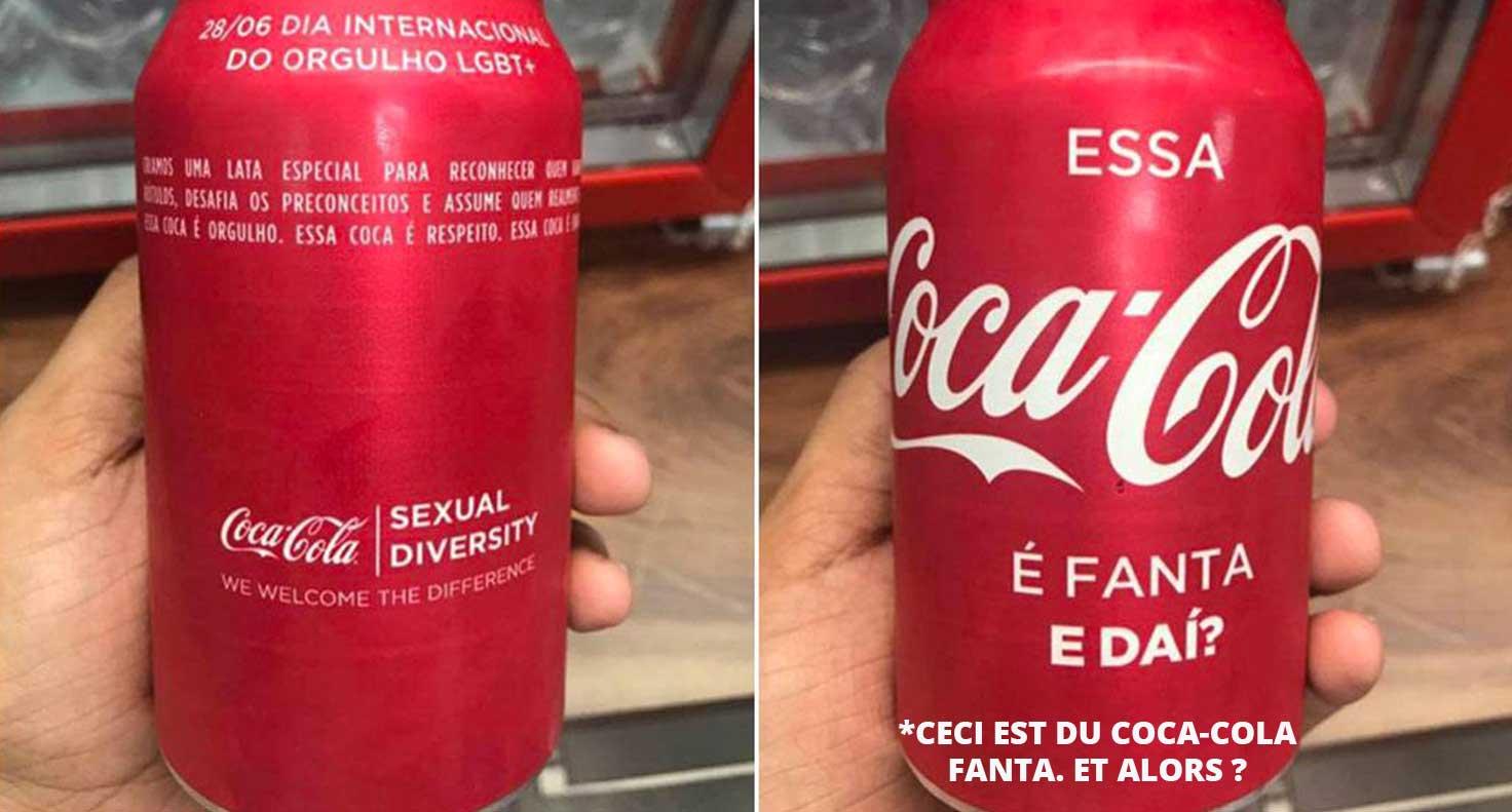 Campaña de coca-cola en favor de la diversidad sexual