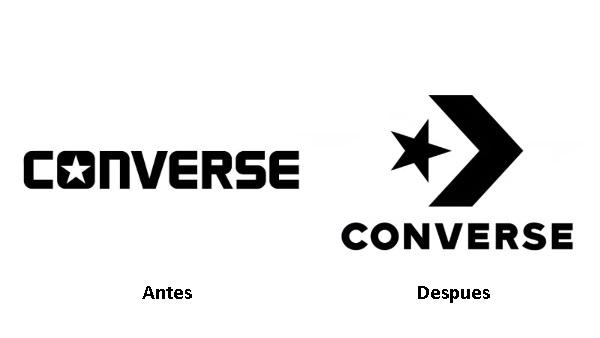 Nuevo logotipo de Converse