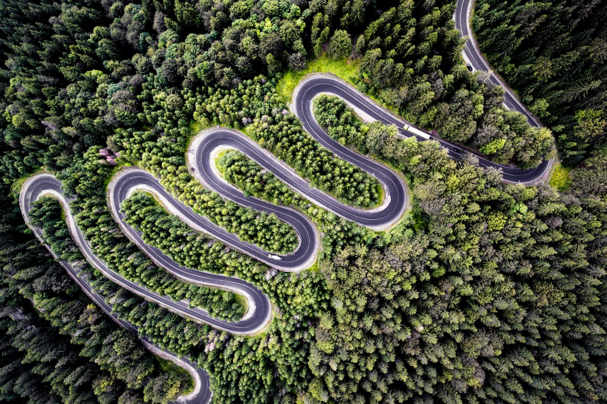 Infinite Road to Transylvania por Calin Stan
